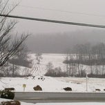 Photo taken at Hampton Inn Indiana by Rae R. on 3/26/2013
