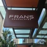 Photo taken at Fran's Chocolates by Yuki N. on 6/28/2013