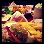 Photo taken at Red Robin Gourmet Burgers by autumn l. on 2/11/2013