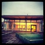 Photo taken at Deutsche Nationalbibliothek by Michael S. on 10/23/2012