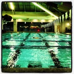 Photo taken at Shute Park Aquatic & Recreation Center (SHARC) by Josh B. on 11/15/2012