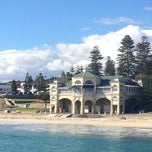 Photo taken at Cottesloe Beach by Paula P. on 6/28/2013