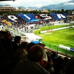 Photo taken at Arena Garibaldi - Stadio Romeo Anconetani by Luca L. on 5/5/2013