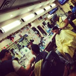 Photo taken at Dominguez Barbershop by Hector A. on 12/31/2012