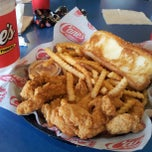 Photo taken at Raising Cane's by Derek D. on 4/21/2013