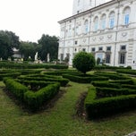 Photo taken at Villa Borghese (ingresso Propilei delle Aquile) by Rami Z. on 5/30/2013