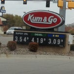 Photo taken at Kum & Go by Amy C. on 10/14/2012