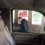 Photo taken at Golden Nozzle Car Wash by Amanda Ann on 12/20/2013
