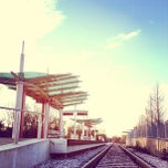 Photo taken at MetroRail - MLK Jr. Station by Brian N. on 1/16/2013