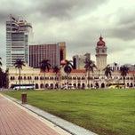 Photo taken at Independence Square (Dataran Merdeka) by Anton B. on 4/11/2013