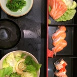 Photo taken at Standing Sushi Bar by Clover🍀 on 4/30/2015