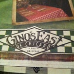 Photo taken at Gino's East by Jason F. on 10/19/2012