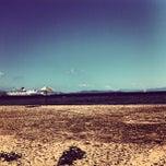Photo taken at Παραλία Ραφήνας by Βασίλης Δ. on 6/8/2013