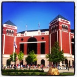 Photo taken at Globe Life Park in Arlington by Ryan S. on 7/6/2013