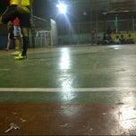Photo taken at Arrayan Futsal by AmiemMacOsXp A. on 9/10/2013