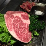 Photo taken at 燃Moe燒肉二店 by Kelly L. on 1/19/2015