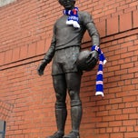 Photo taken at Ibrox Stadium by Thomas S. on 3/9/2013