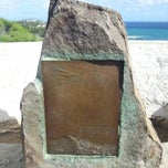Photo taken at Amelia Earhart marker at Diamond Head Lookout by Steve D. on 11/2/2014