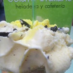 Photo taken at Heladeria Gelato Italiano by Pepe A. on 3/21/2013