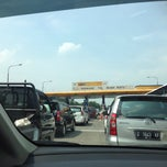 Photo taken at Gerbang Tol Buah Batu by surya b. on 5/16/2015