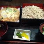 Photo taken at そば茶屋 庄吉 by K N. on 6/9/2014