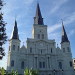 Photo taken at St. Louis Cathedral by Fahad H. on 9/11/2013