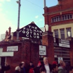 Photo taken at Craven Cottage by Michael B. on 12/8/2013