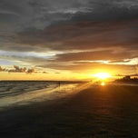 Photo taken at Fort Myers Beach by Chris on 7/11/2013