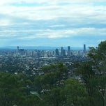 Photo taken at Mount Gravatt Outlook by Dee B. on 2/22/2013