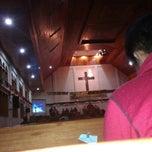 Photo taken at Gereja HKBP Sirisirisi Resort Sirisirisi by Eky N. on 12/27/2013
