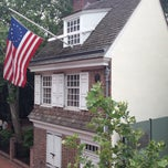 Photo taken at Betsy Ross House by Andrew P. on 7/3/2013
