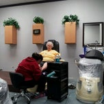 Photo taken at Sandys Oasis Salon by Cyndi D. on 2/12/2013