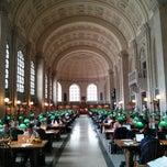 Photo taken at Boston Public Library by Aarthi D. on 3/23/2013