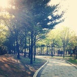 Photo taken at 솔안공원 by js c. on 5/1/2013