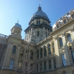 Photo taken at Illinois State Capitol by Mike S. on 2/6/2013