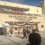 Photo taken at BankUnited Center by Eric P. on 12/13/2012