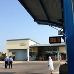 Photo taken at Stazione ATVO - Bus Station by Matthias C. on 7/27/2013