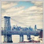 Photo taken at Williamsburg Bridge by Nate S. on 4/21/2013