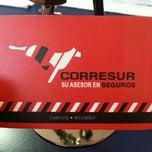 Photo taken at Corresur Cia. Ltda. by David L. on 11/23/2012