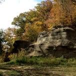 Photo taken at Ledges State Park by Erik R. on 10/3/2012