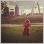 Photo taken at Pedestrian Bridge by Ash B. on 5/18/2013