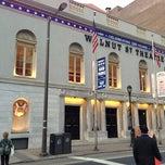 Photo taken at Walnut Street Theatre by Pharmaguy on 4/9/2013