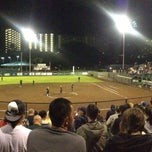 Photo taken at Rainbow Wahine Softball Stadium by T. Thurstan W. on 5/4/2013