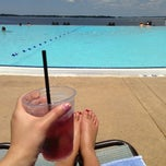 Photo taken at Pool @ Hyatt. by Justine H. on 6/21/2013