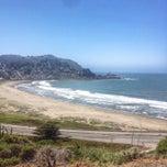 Photo taken at Linda Mar Trail To Rockaway Beach by M. Ryan on 5/7/2014