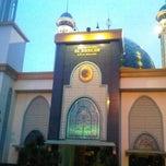 Photo taken at Masjid Agung AL-BARKAH Bekasi ® by Rukke E. on 2/17/2013