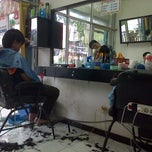 "Photo taken at Barber shop ""Pasadena"" by Eva N. on 6/9/2013"