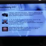 Photo taken at World Economic Forum 2012 (Davos Congress Center, WEF) by Matthias L. on 1/25/2012