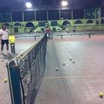 Photo taken at Lapangan Tenis Pati Unus by Hendri S. on 8/15/2011