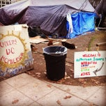 Photo taken at Occupy K St. by Corey D. on 12/5/2011